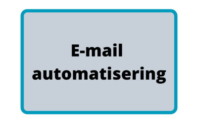 E-mail automatisering